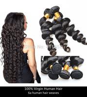 mocha hair 6a unprocessed virgin brazilian hair weaves brazilian loose wave virgin hair 2/3/4pcs lot brazilian hair no tangle