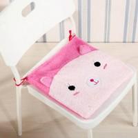 New Winter cute cartoon plush chair cushion home dining chair mat stool cushion seat Auto Car Office Chair cotton/plush Cushion