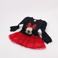 Spring Autumn Baby Girls Christmas Dress Princess Tutu Dress Five Colors Available Wholesale