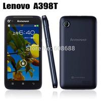 Original Lenovo A398T A398+ smartphone 4.5'' IPS Quad Core Single Sim Android phone SC8830 5MP 4GB ROM unlocked cell phones