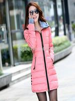 Women's cotton-padded jacket 2014 winter medium-long down cotton plus size jacket female slim ladies jackets and coats hot sales