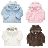 Carters Baby Girls And Boys Coat ,100% Polyester Sherpa Soft Winter Coat ,Solid Five Colors Baby Jackets For Winter,Freeshipping