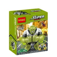 SY Super hero Anti-Hulk Minifigures Building block sets Toys for boys lego compatible