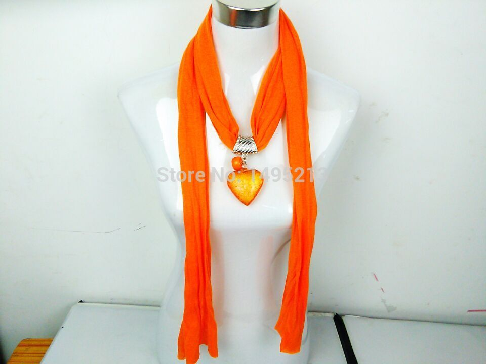 heart ladies magic necklace pendant scarves jewelry jewel jewelled jewellry wrap shawls scarf bufandas for disigual spain female(China (Mainland))