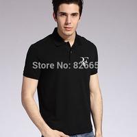2015 New Style Men Roger Federer RF Tennis Polo Shirt Summer Turn-down Collar Short Sleeve Male Sports Clothing