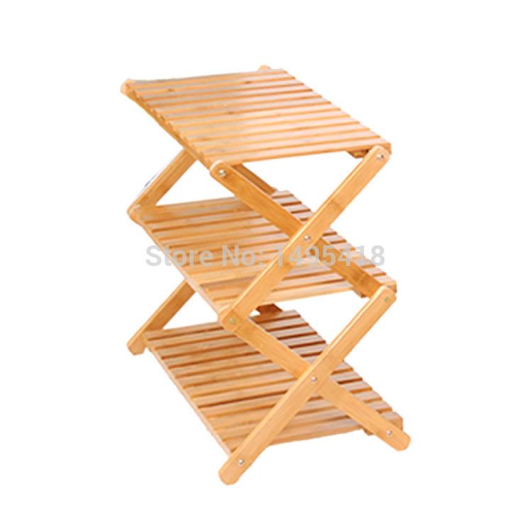 racks bamboo flower bathroom shelf shoe rack IKEA multifunction wood ...
