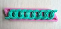 Fantastic 3D Beautiful Decorative Design Silicone Fondant Cake Molds Soap Chocolate Mould -P136