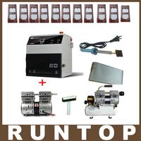 KO OCA Vacuum Laminator Laminating Machine Cellphone LCD Screen Refurbish Repair Machine  + Vacuum Pump + Air Compressor