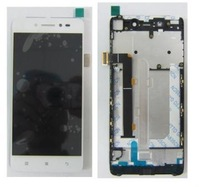 White Original LCD Display Screen For LENOVO S90 S90-T S90-U LCD+Touch Screen Digitizer+frame Assembly SG free shipping