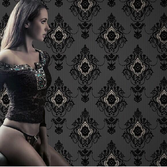 Luxury Crystal Wallpaper Luxury Velvet European