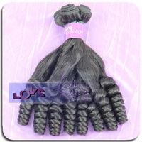 6A Funmi Curly Brazilian Virgin Hair in Natural Color Aunty Funmi Curly Raw Unprocessed Human Hair Weave 100g/bundle Hair Weft