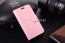 Hot Quality Flip PU Leather Case For Samsung GALAXY Trend Duos S7562 Cover S 7562 GT-S7562 Stand Back Cover With Card Slot