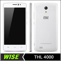 Original THL 4000 Android 4.4 MT6582M Quad Core 1GB RAM 8GB ROM 4000mAh Battery 960*540 4.7 Inch Mobile Phone