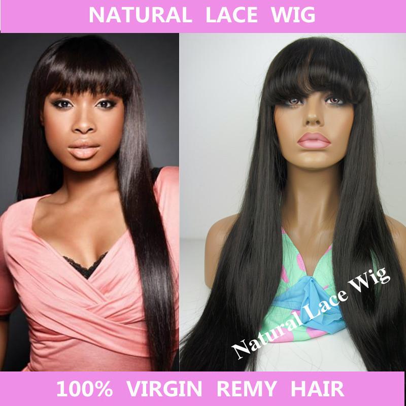 Natural Lace Wig 100% NT-175 100% natural