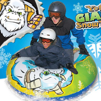 2 person big Inflatable Snow Tube ,Sleds ,Skiing TubInflatable ,Sledge ,Snow Tubee ,Inflatable snowboard Size 136CM)