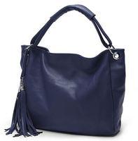 Fashion Style Ladies' Tassel handbag 100% Genuine Leather women handbagTote/Shouler bags/Messenger bag NEW ARRIVAL
