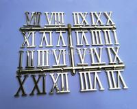 50PCS 3CM Wholesale Roman Numbers for Quartz Clock Accessories