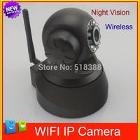 New Home Improvement Security IR Night vision Webcam Web CCTV Camera WiFi Wireless P2P 2-Way Audio Network Camera