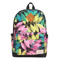 "Fresh style women ultralight canvas floral printing backpack travel bag 15"" laptop bag 42*32cm"