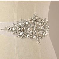 Min order $10 Free shipping Wedding decroations rhinestone waistband handmade Bridal Sash Vintage formal bridal belt  BW33