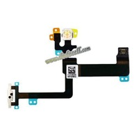 10pcs/lot  switch on/off power flex cable For iPhone 6 plus 5.5'' Inch  free ship