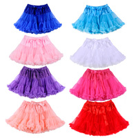 2014New Arrival Girl Pettiskirts ChiffonSummer Multicolor Baby Girl Tutu Skirt Blue White Red For Girl Pettiskirts Free Shipping