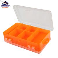 Multifunctional Portable Fishing Tackle Box 2 sides Fishing Tool Box Lures hook Case tackle BB03 freeshipping wholesale