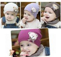 New style fashion baby hat baby cap baby bear hat infant hat infant cap headress children cap