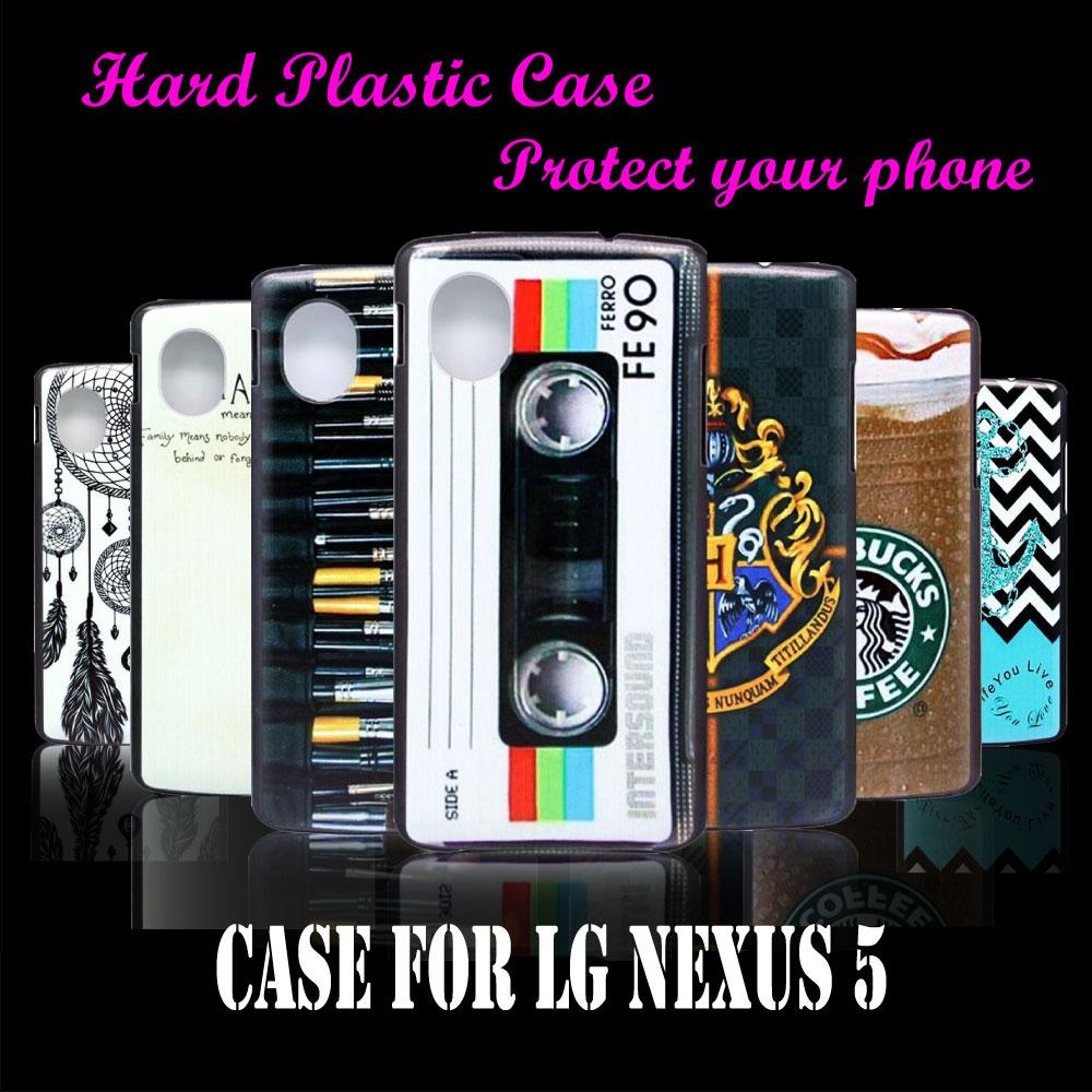 Mobile Phone Hard Plastic Case Cover For LG Nexus 5 E980 D820 D821 Vintage Cassette Tape FE90 New Brand Skin Custom(China (Mainland))