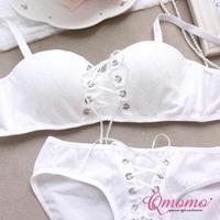 Fast free shipping 2014 New High quality black white lace bra sexy secret 1/2 cup push up bra set women's underwear