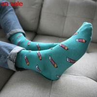 2014 Cotton Flax cotton men's socks pencil socks socks men high quality men color basketball socks 5pair/lot