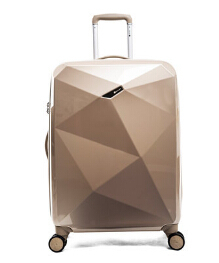 Woman and Man Fashion Ultra light PC Material Spinner Wheels Travel Suitcase Diamond Cut Luggages 20'' 24'' 28''(China (Mainland))