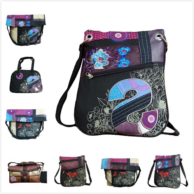 AliExpress.com Product - 2014 Spanish brand women's Embroidery travel bags women shoulder handbag Messenger Bags