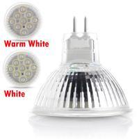 GU5.3 MR16 3W 2835SMD 9 LED Light Lamp Bulb Spotlight White Warm White DC 12V