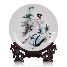 Grátis antiga envio chinês beleza placas decorativas beleza Oriental room home decoração artesanato mobiliário(China (Mainland))