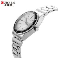 Curren Brand Original Men Luxury Watch Stainless Steel Dail Watches Auto Date Fashion Business Casual Gold Wristwatches