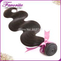 1 bundle 6a grade aliexpress Favorite brazilian virgin hair body wave human hair weave on sale natural color 100% unprocessed