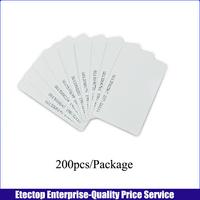 200pcs/lot 125KHz 0.8mm RFID cards For Access control,Access Control Card,ID card thin Access Control Membership Management