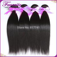 Top grade 6A Peruvian Virgin Hair Human Hair Straight Ali Favorite Hair Products Peruvian hair Straight mix length 4pcs lot sale