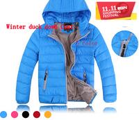 New Children winter outwear down coat Brand  Boys Girls warm white duck down jackets  Kids baby Outerwear  Parkas Free shipping