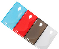 Doogee DG550 Case,S-Line Colorful Anti-Dust Soft Silicone Cover Case For Doogee DG550 Case,Mix Color