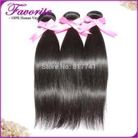 6A Brazilian Virgin Hair Straight Hair Weaves Ali Favorite Human Hair Bundles Brazilian Virgin Hair Extension 3pcs lot for Sale