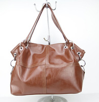 H077(dark brown) New designers women's bag,hot sell ladies messenger bag,PU,Interior Structure:3 small pockets,Free shipping