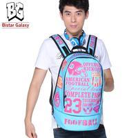 Fashion Canvas Women Men Outdoor Travel Backpack Bag Large Size Sport Laptop Backpack for School BBP-406