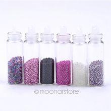 6 cores profissional bela 3D Nail Art manicure pedicure Nail Art polonês FMPJ494 # m1