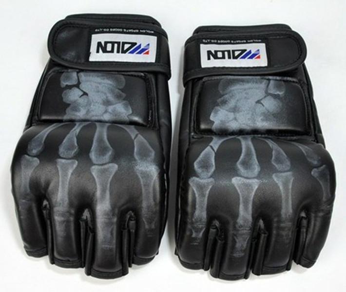 product Boxing Gloves Half-finger Gloves Muay Thai MMA Stree Fighter Fighting Karate Taekwondo Mittens For Training