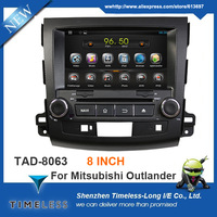 Pure Android 4.4 Capacitive Multi-Touchscreen Car Stereo For Mitsubishi Outlander 2006-2012 with GPS Radio Bluetooth Wifi TV