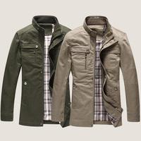 2015 England Men Casual Brand Jackets Plus Size M-3XL Autumn & Spring Clothing Man Fashion Military Coats