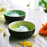 New 2014 celadon incense aroma Hot ceramic oven dish crack Glaze Series lotus incense censer aroma incense burner perfumes