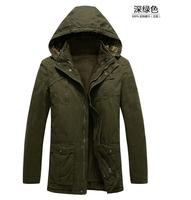 2014 hot sale winter cotton parka jacket men famous brand warm hooded long casual outdoor thick parka de los hombres